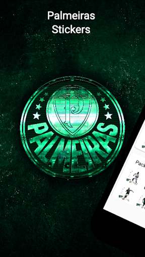 ⚽ Palmeiras Stickers for WhatsApp  (WAStickerApps)  screenshots 1