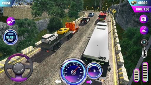 American Truck Driver Simulator- Cargo Truck Game  screenshots 4