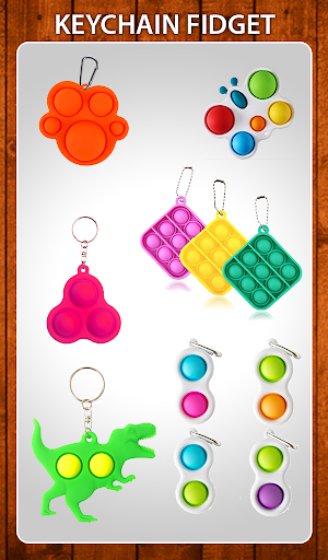 Fidget Toys 3D: Pop it Antistress 3D Calming Games  screenshots 12