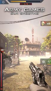 Army games: Gun Shooting Mod Apk (Dumb Enemy) 2
