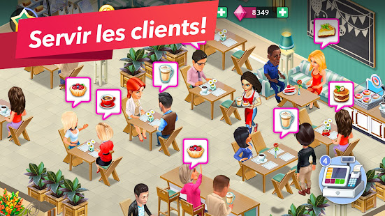 My Café — Jeu de gestion de restaurant. Recettes screenshots apk mod 3