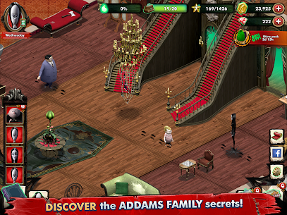 Addams Family: Mystery Mansion MOD APK 0.3.6 (Unlimited Coin) 13
