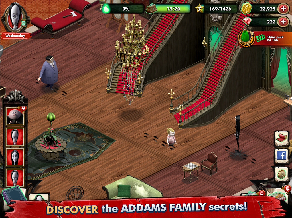 Addams Family: Mystery Mansion - The Horror House! poster 12