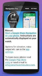 Navigation Pro: Google Maps Navi on Samsung Watch 6