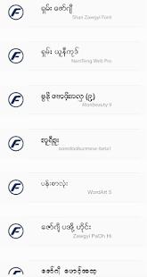 TTA RealOp Unicode Myanmar Font 1.3 Screenshots 3