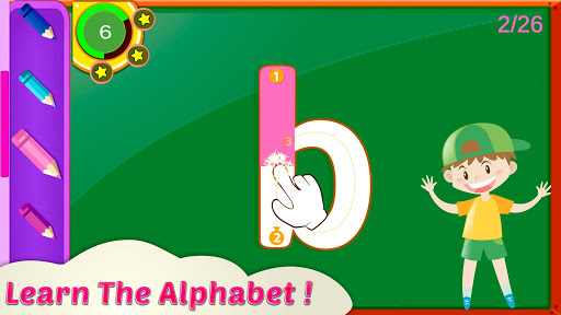 Alphabet Learning - Tracing & Coloring 1.3 screenshots 2