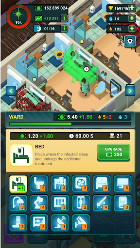Zombie Hospital Tycoon: Idle Management Game 0.40 screenshots 6