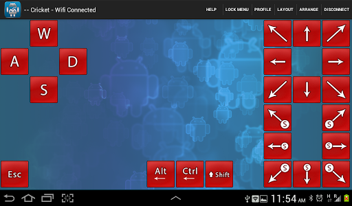 Foto do Wifi-BT PC Gamepad