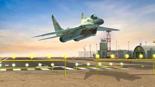 Flight Plane Simulator 3D : Airplane Flying Sim apktram screenshots 8