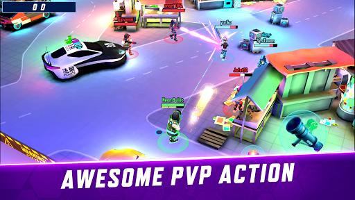Gridpunk - 3v3 PvP Battle Arena Apkfinish screenshots 2