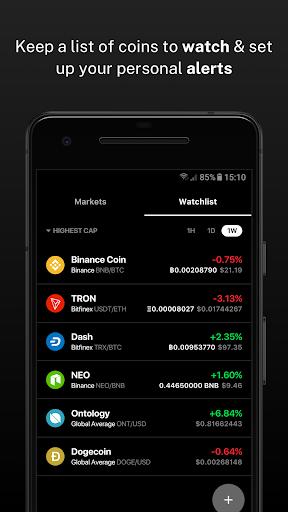 Delta - Bitcoin & Cryptocurrency Portfolio Tracker screenshots 8