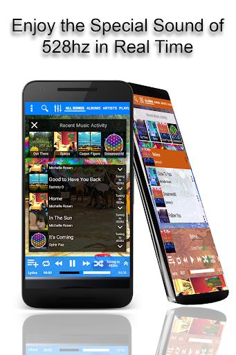 528 Player - Lossless 528hz Audio Music Player 31.5 screenshots 1