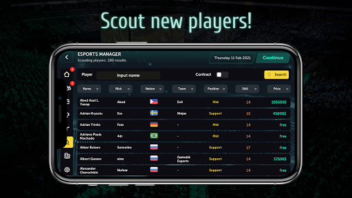 Esports Manager MOBA 1.0.55 screenshots 5