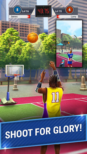 Shooting Hoops - 3 Point Basketball Games 4.5 screenshots 2