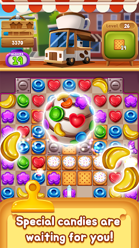 Food Pop: Food puzzle game king in 2021  screenshots 3