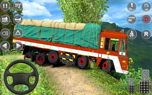 Indian Truck Spooky Stunt : Cargo Truck Driver 1.0 screenshots 9