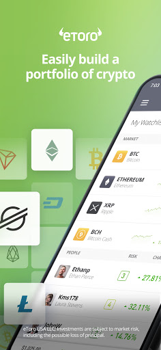eToro - Smart crypto trading made easy 287.0.0 Screenshots 1