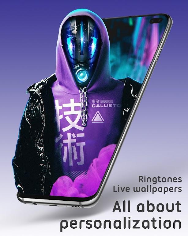 Live Wallpapers 4Κ/HD & Ringtones GRUBL™  poster 0