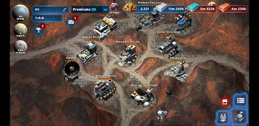 Dark Planets - Space And Clan Game 2021  screenshots 1