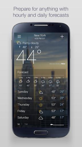 Yahoo Weather 1.30.57 Screenshots 2