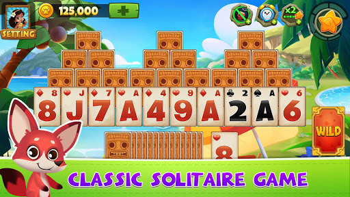 Solitaire TriPeaks Adventure - Free Card Game screenshots 1