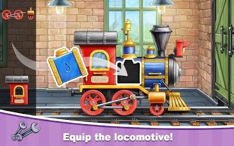子供の幼稚園のための列車ゲームの学習のおすすめ画像1