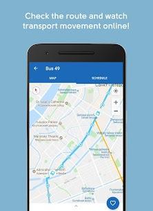 TransportSpb. Public transport routes in Spb 1.9.20 Android Mod + APK + Data 3