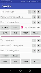 Encryption and decryption tool 1.3