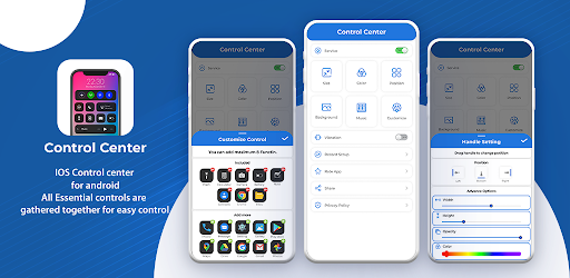 Control Center - Control Panel For Quick Actions Mod By ChiaSeAPK.Com