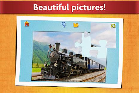 Cars, Trucks, & Trains Jigsaw Puzzles Game ud83cudfceufe0f screenshots 10