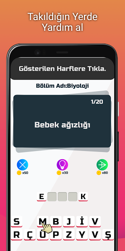 Profesu00f6r: Tu00fcrku00e7e Kelime Oyunu 1.7 screenshots 2