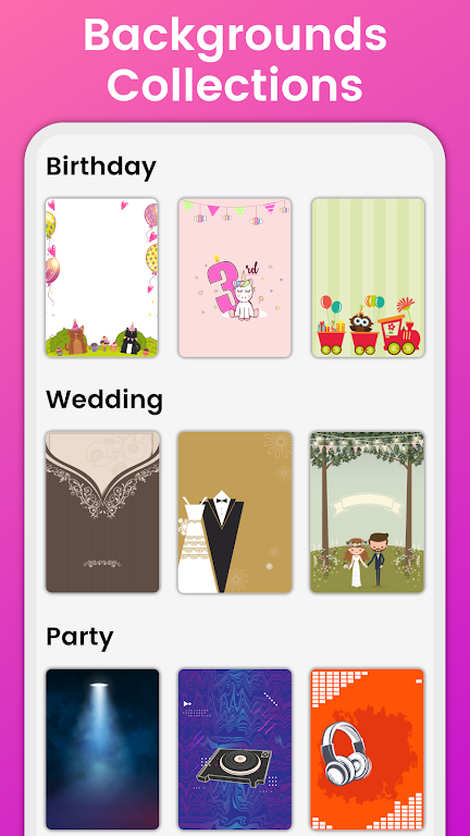 Invitation Maker Free - Birthday & Wedding Card  poster 20