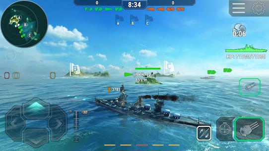 Warships Universe: Naval Battle Mod Apk 0.8.2 (Mod Banknotes/Diamonds) 5