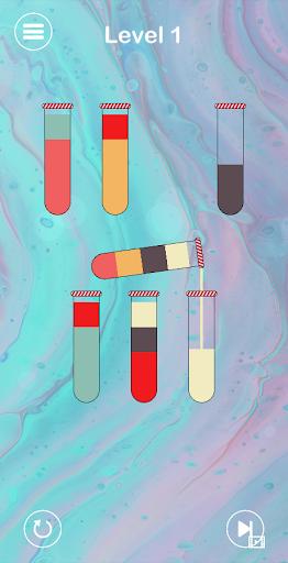 Impossible Water Sort 2D - Water Color Sort Puzzle  screenshots 4