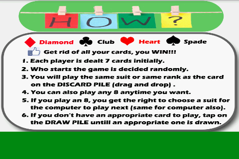 Crazy Eights Fun For PC Windows (7, 8, 10, 10X) & Mac Computer Image Number- 6