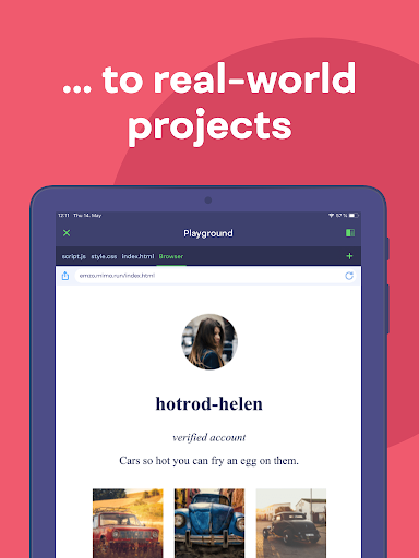 Mimo: Learn coding in HTML, JavaScript, Python android2mod screenshots 10