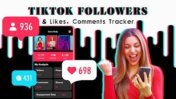 TikFollowers - track tiktok followers & get likes