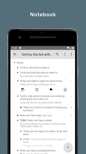 Orgzly: Notes & To-Do Lists Screenshot