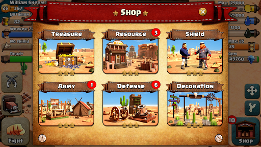 War Wild West android2mod screenshots 5