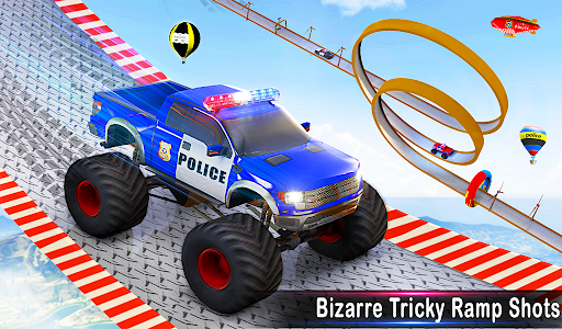 Police Car Racing Stunts 3D : Mega Ramp Car Games 3.8 screenshots 17