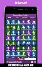 Dances from Fortnite (Emotes, Shop, Wallpapers) screenshot thumbnail
