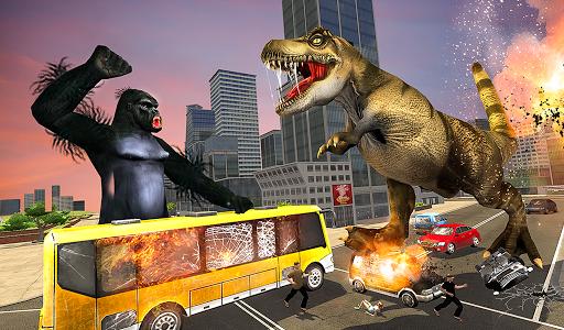 Monster Dino Vs King Kong-City Rampage Simulator 1.0.3 screenshots 17