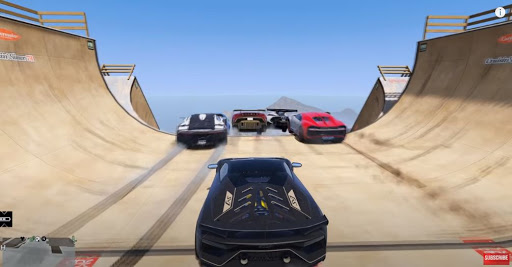 Mega Ramp Car Stunt 3D: Car Stunt Game 1.0 screenshots 1