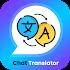 Chat Translator : Free Voice & Chat Translate