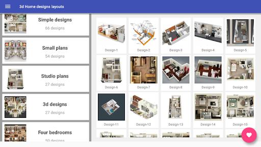 3d Home designs layouts 9.7 Screenshots 8