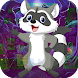 Kavi escape Game 443 Raccoon Dog Escape Game - Androidアプリ