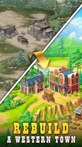 Sheriff of Mahjong: Match tiles & restore a town 1.9.900 screenshots 4