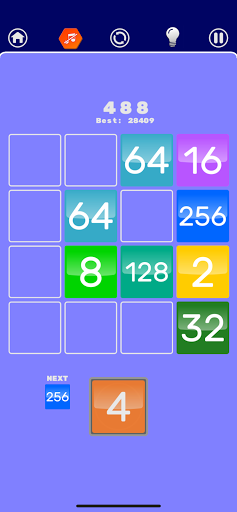 Number Merge 2048 - 2048 hexa puzzle Number Games 7.9.12 screenshots 7