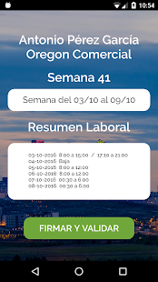 Control Laboral Screenshot