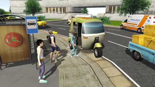 Tuk Tuk Rickshaw City Driving Simulator 2020  screenshots 5
